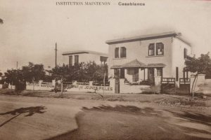 La façade en 1927