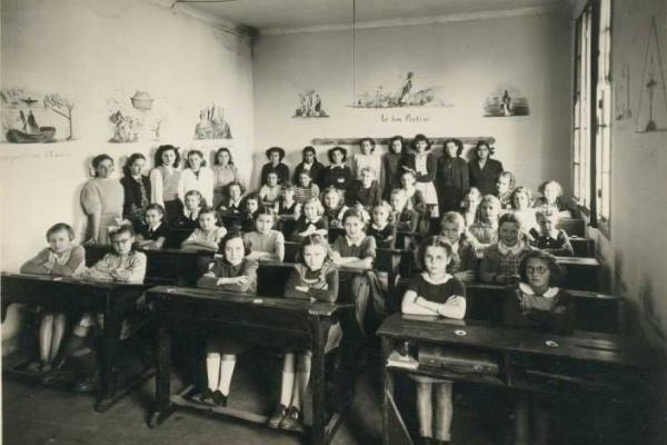 Photos de classe, vers 1950