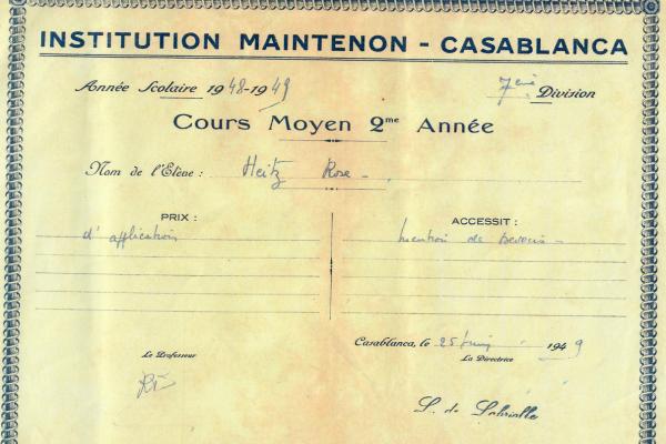 Prix maintenon 1949